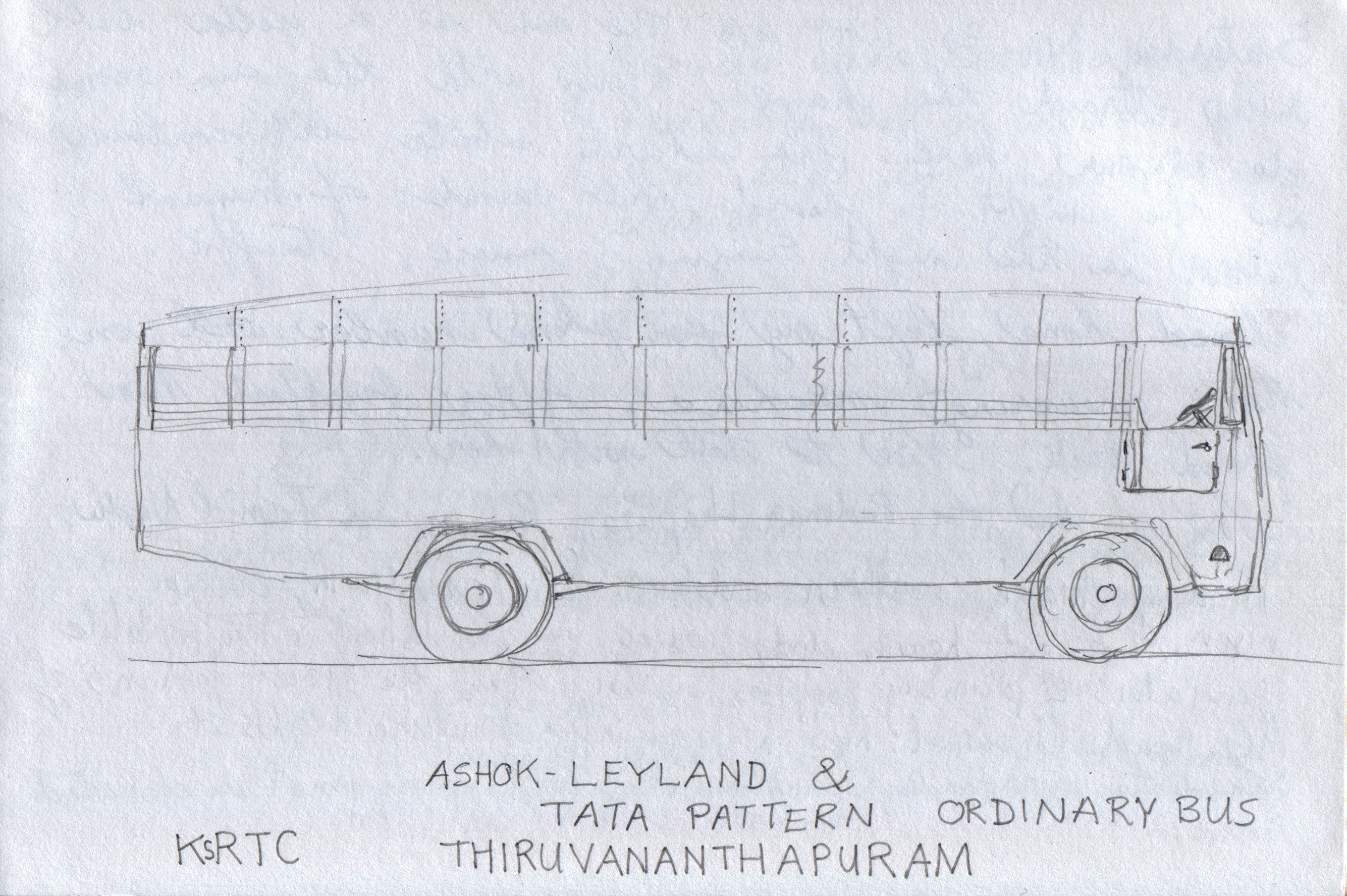 07 ksrtc ordinary buses ingo 39 s sketchbook for Window manufacturers near me