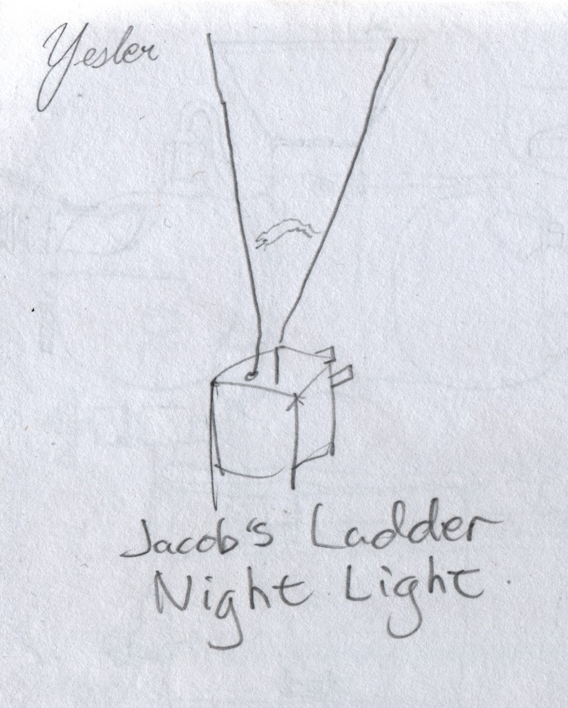 Idea for a mad scientist's night light.