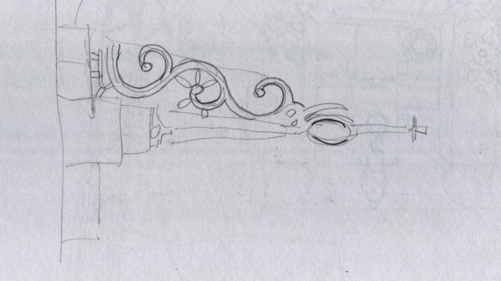 "Still studying the steel ""mannicchitrattaazhu"" lock at the Ettukettu, Hill Palace Museum, Thripunithura. In Malayalam the lock is called മണിച്ചിത്രത്താഴ്  (mannicchitrattaazhu)."