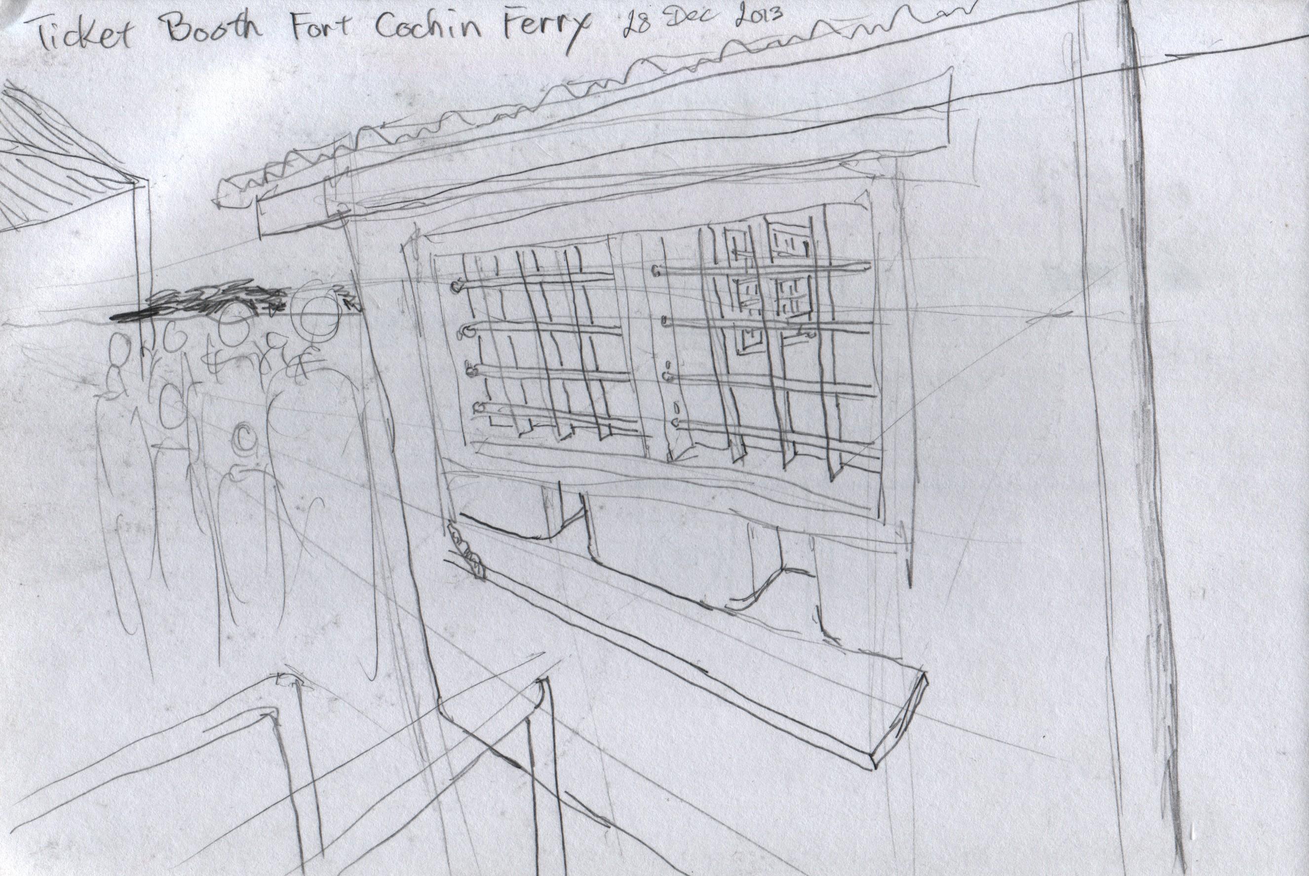 Fort cochin and ernakulam ingo s sketchbook